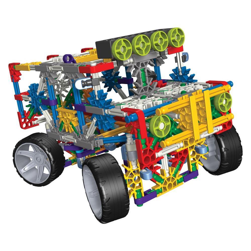 K'NEX 4-Wheel Drive Truck Play Set