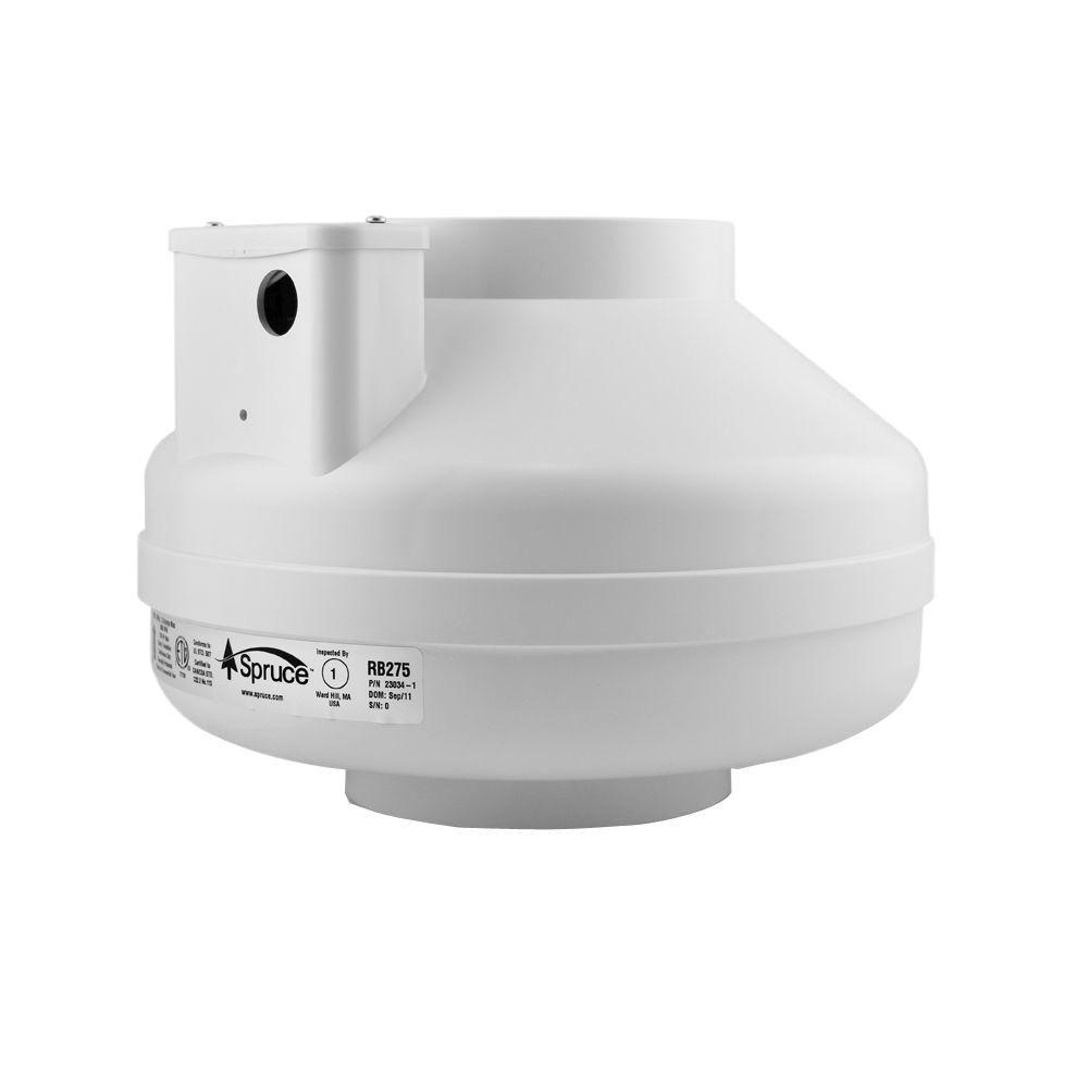 RB275 6 in. Inline Ventilation Fan