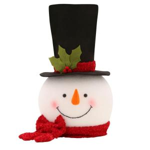 Home Accents Holiday 18 in. Snowman Tree Topper-TXF1794 - The Home ...