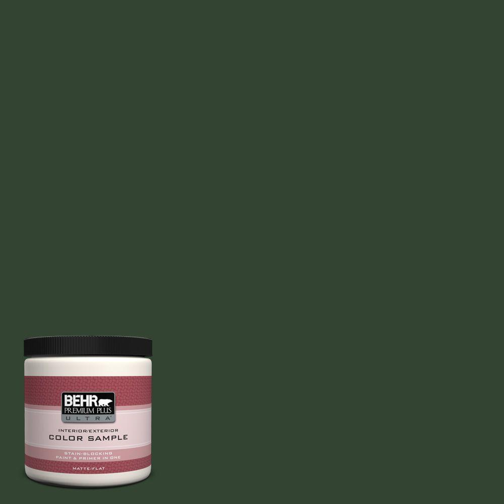 8 oz. #ECC-48-3 Lush Grass Interior/Exterior Paint Sample