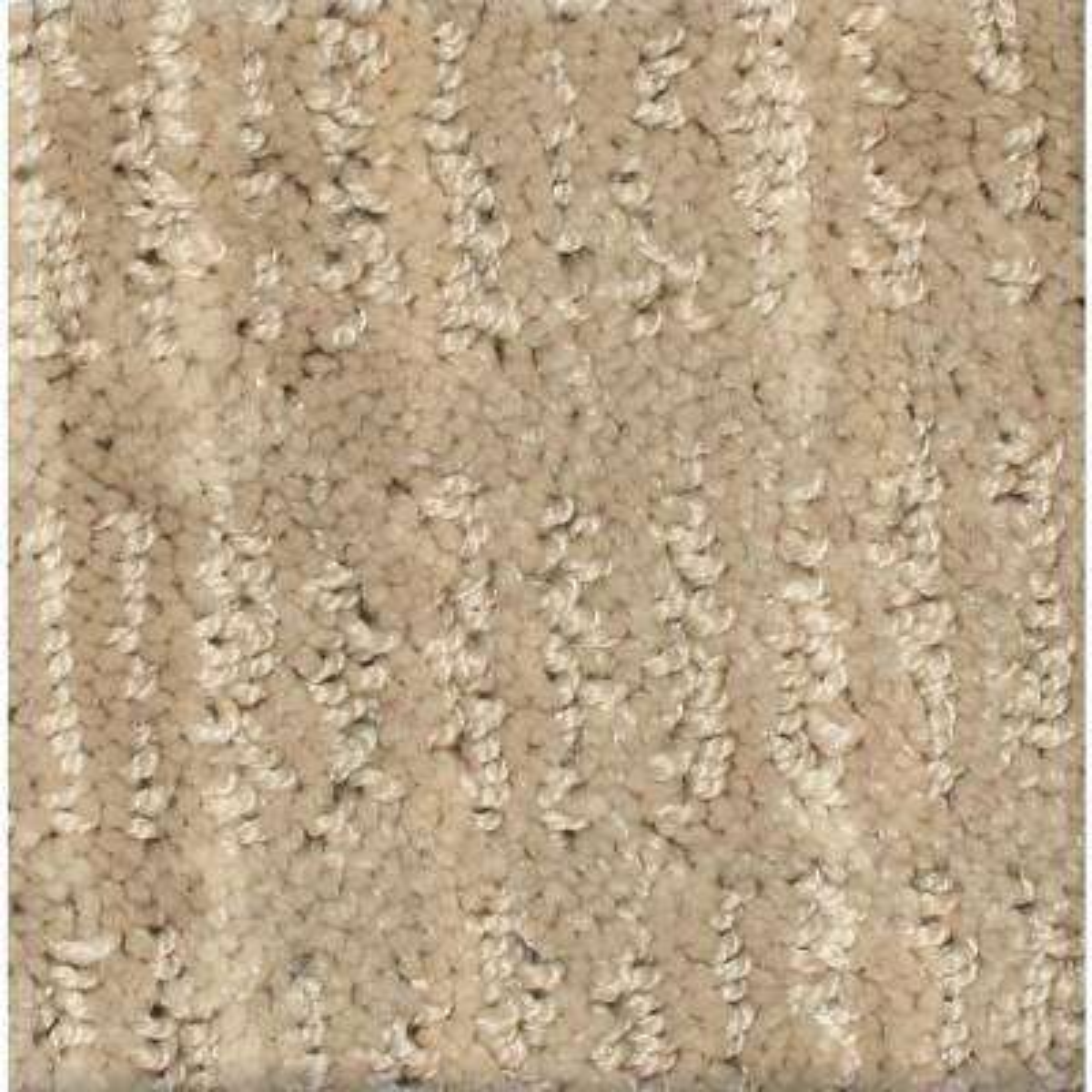 Carpet sample jump line i color stride pattern 8 in x 8 in