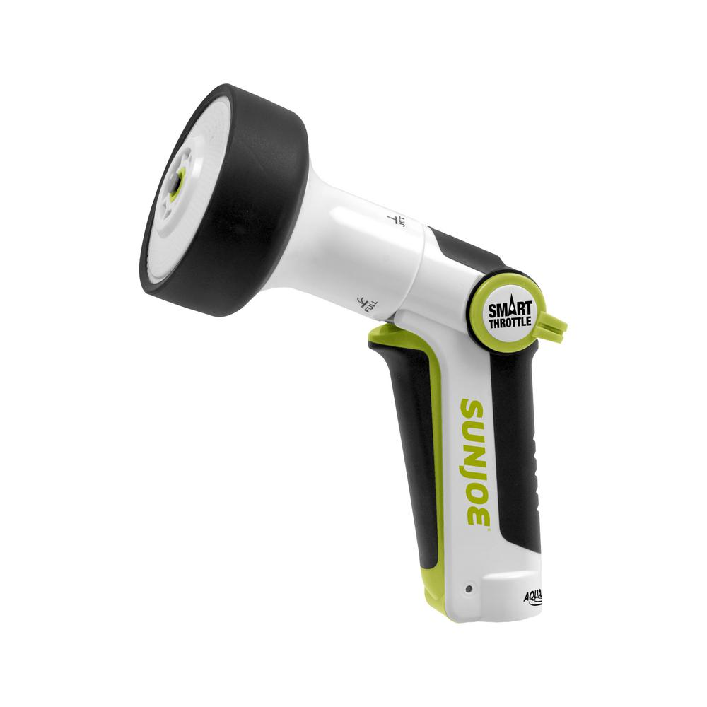 Sun Joe Multi-Function Hose Nozzle with Smart Throttle