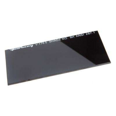 4-1/4 in. x 2 in. #9 Shade Hardened Glass Replacement Lens