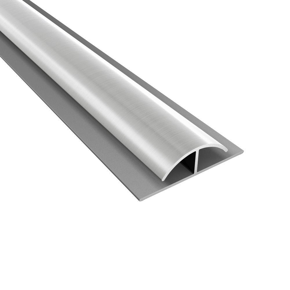 4 ft. Brushed Nickel Divider Trim