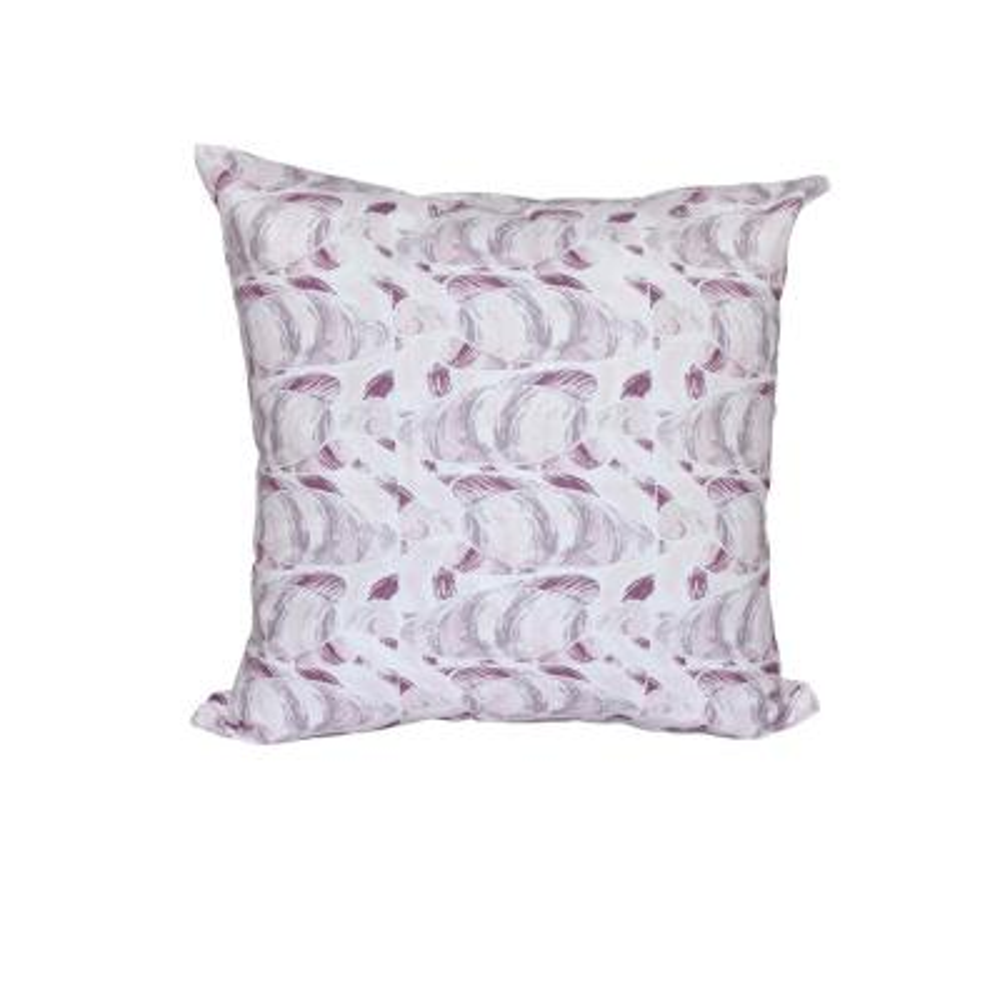 Purple Fishwich Animal Print Throw Pillow
