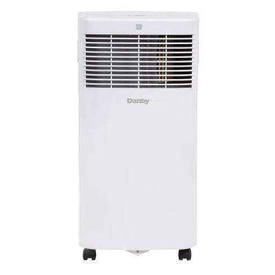 6000 BTU (3000 SACC) Portable Air Conditioner with Dehumidifier in White