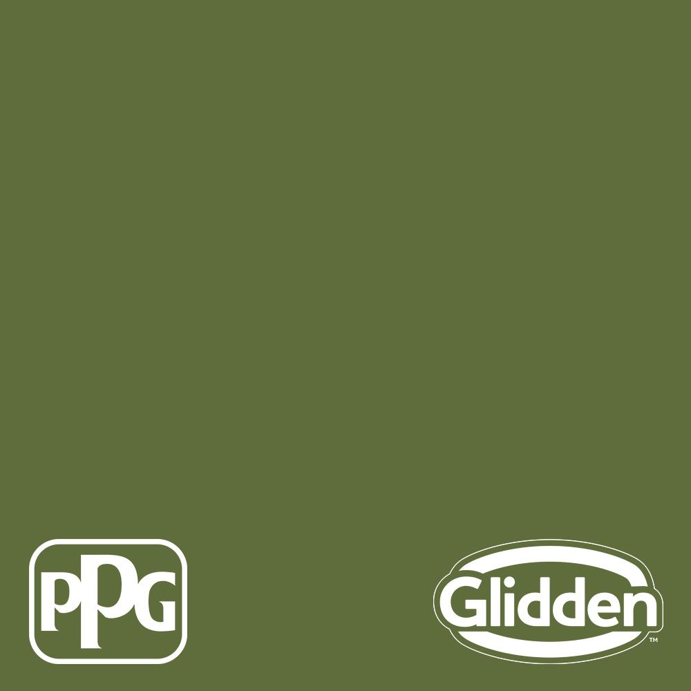 Glidden Premium 1 Qt Ppg1121 7 Globe Artichoke Satin Interior Latex Paint Ppg1121 7p 04sa The Home Depot