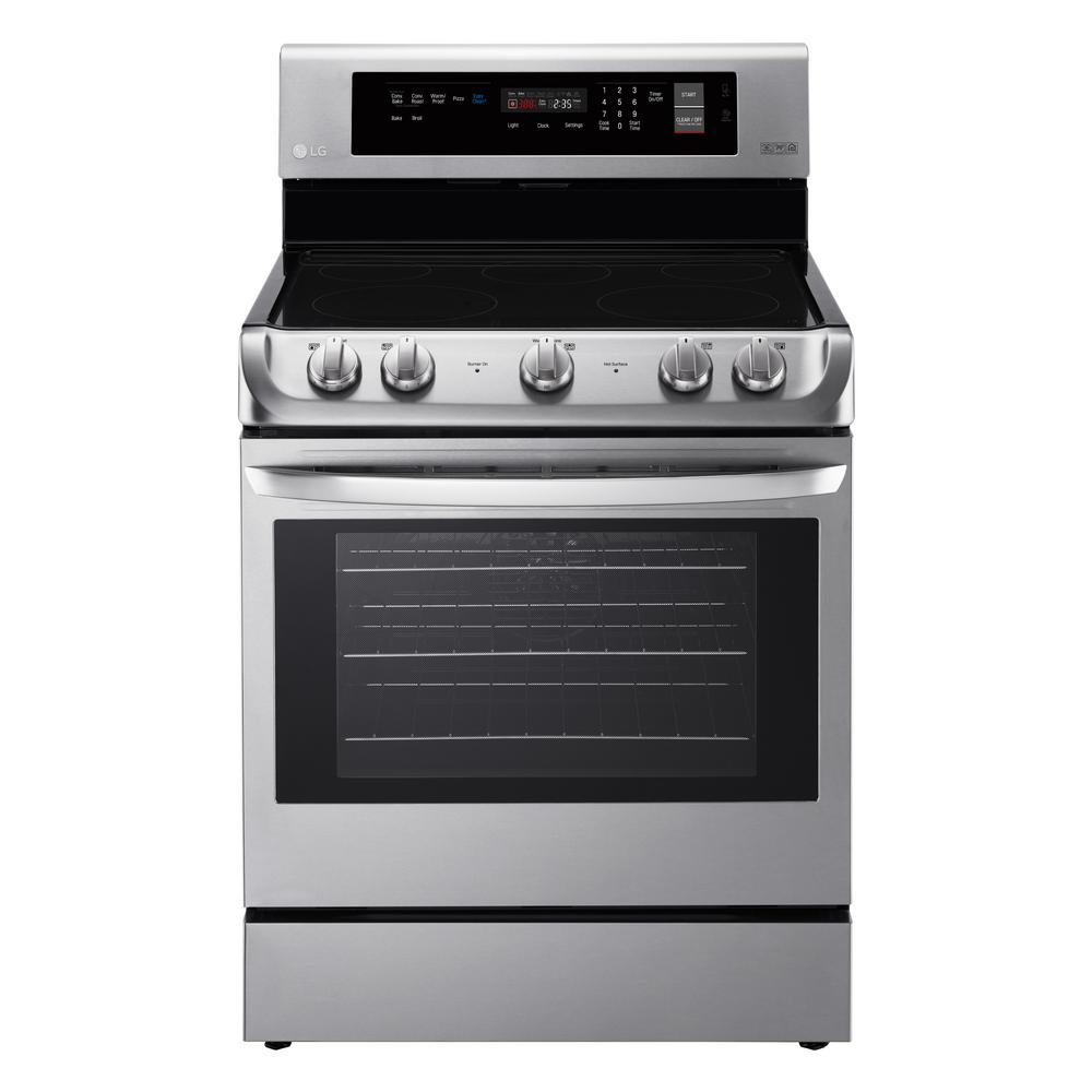 LG 6.3 cu. ft. Electric Range with ProBake Convection Ove...