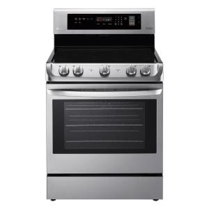 LG Electronics 6.3 cu. ft. Electric Range with ProBake Convection Oven and EasyClean in Stainless Steel by LG Electronics
