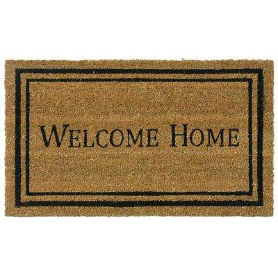Contemporary Welcome Home 18 in. x 30 in. Mat