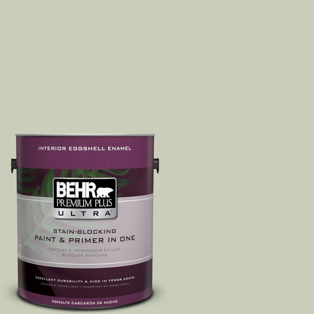 BEHR Premium Plus Ultra 1-gal. #S380-2 Morning Zen Eggshell Enamel Interior Paint