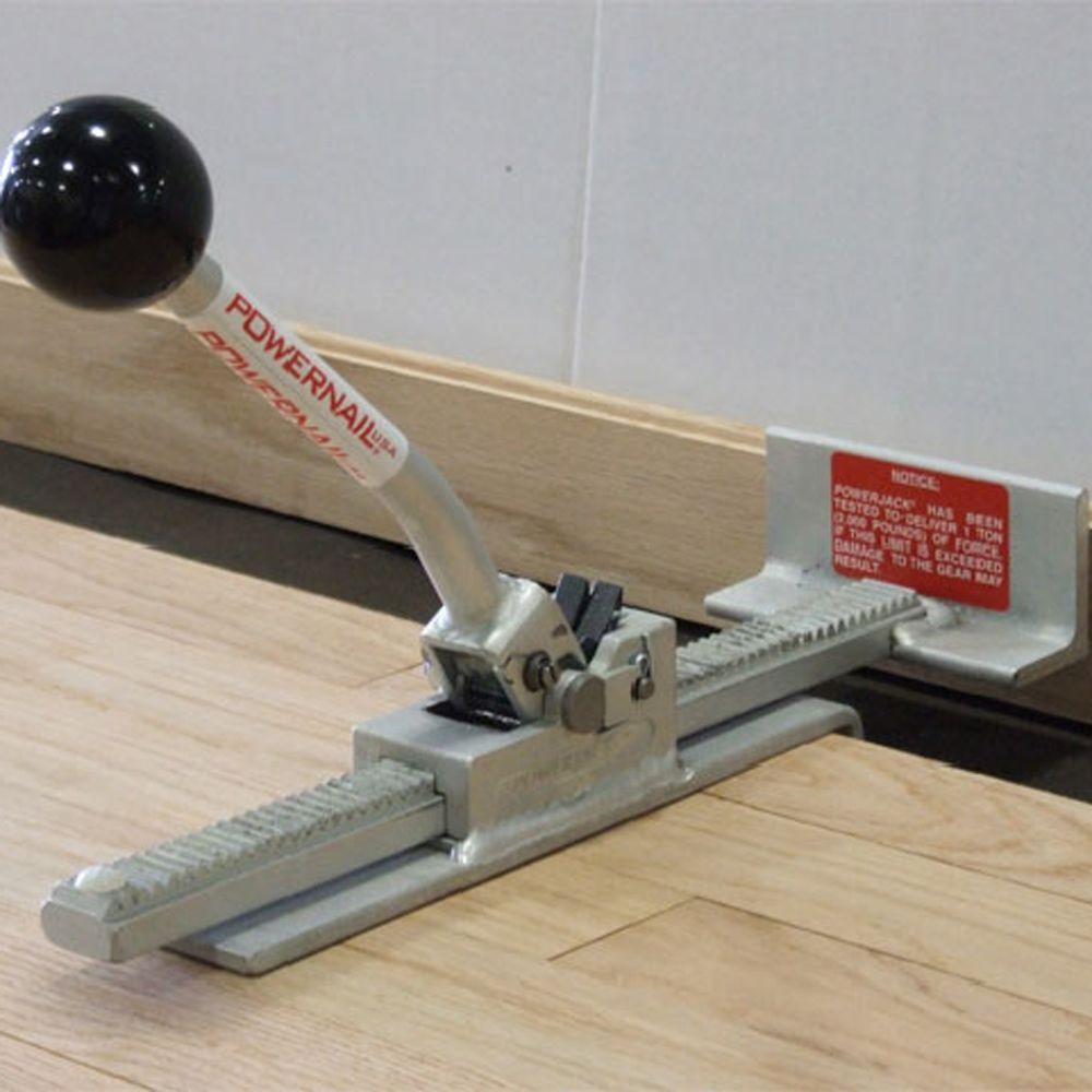 Powernail Ratcheting Flooring Jack For Installing Hardwood And Engineered Floor Boards