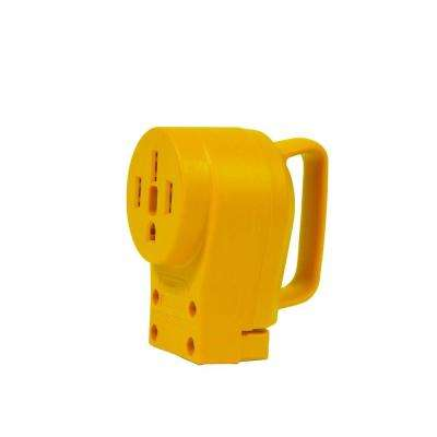 50-Amp Power Grip Replacement Female Connector Body