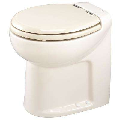 Tecma Silence 1 Mode 2-Volt RV Toilet with Electric Solenoid High in Bone