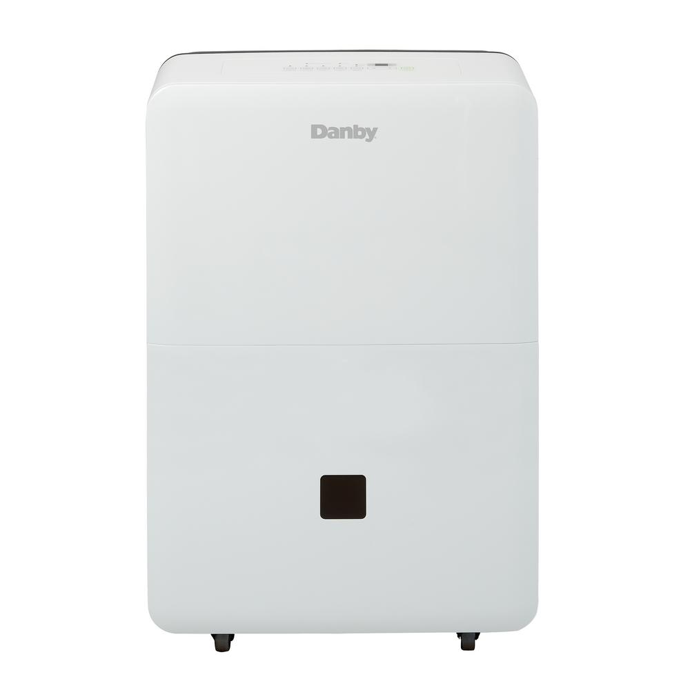 Danby 45 Pint Dehumidifier with bucket, Whites