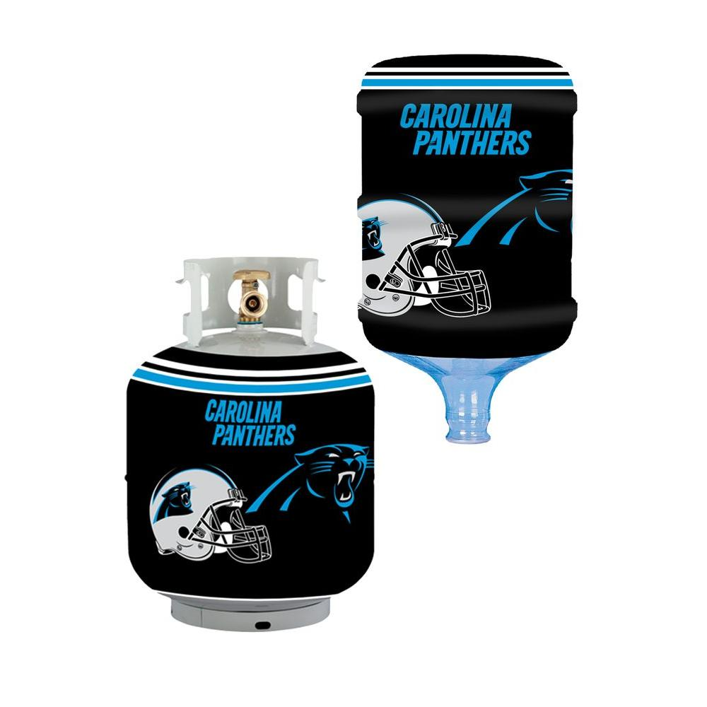 Bottle Skinz Carolina Panthers Propane Tank Cover 5 Gal