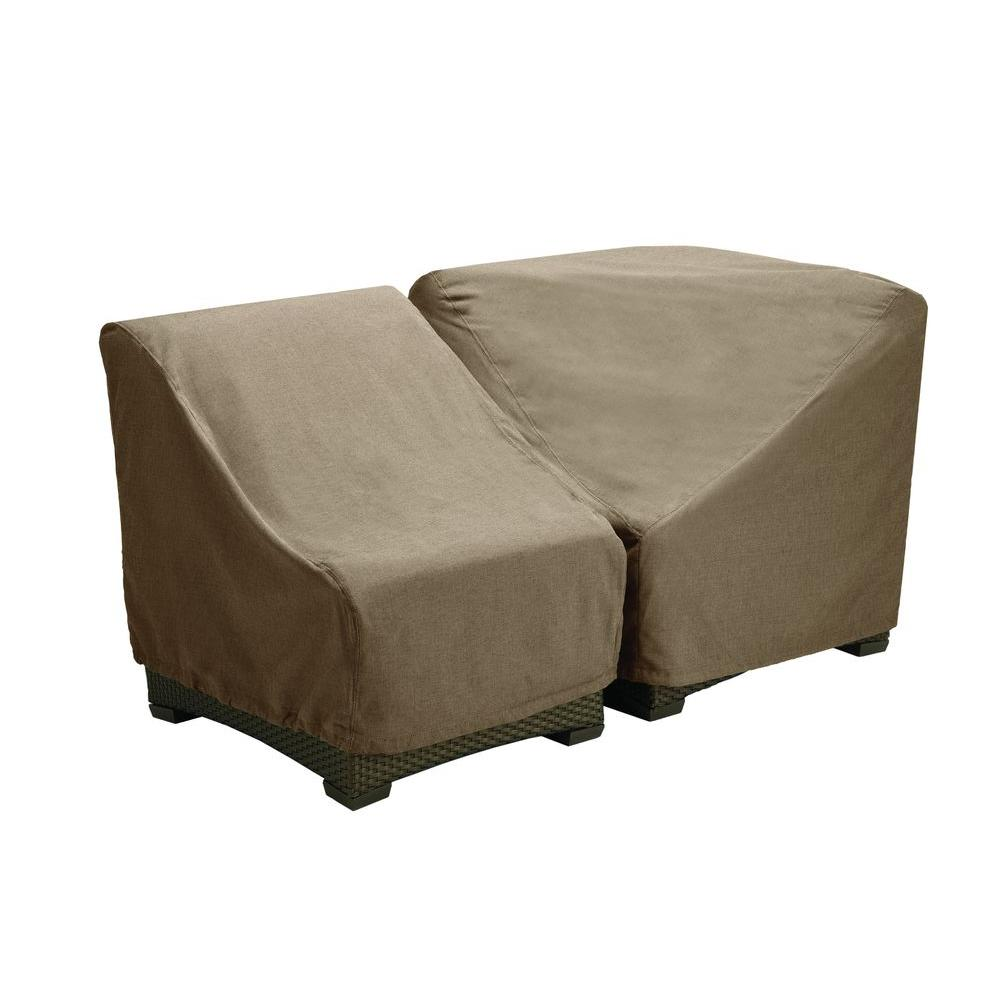 Brown jordan northshore patio furniture cover for the middle armless sectional