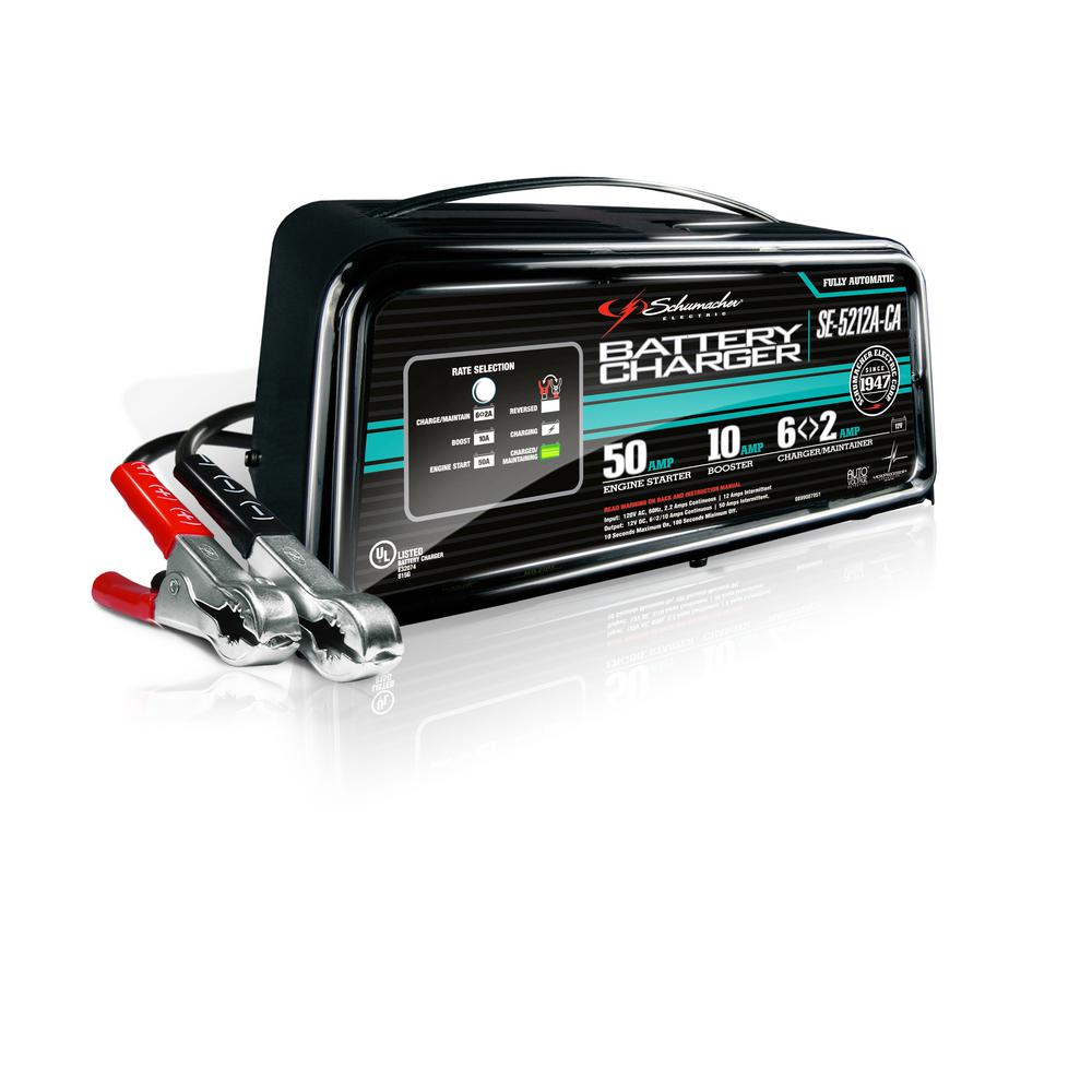 12-Volt Battery Charger/Maintainer/Engine Start