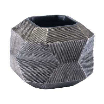 Gray Brick Medium Decorative Vase