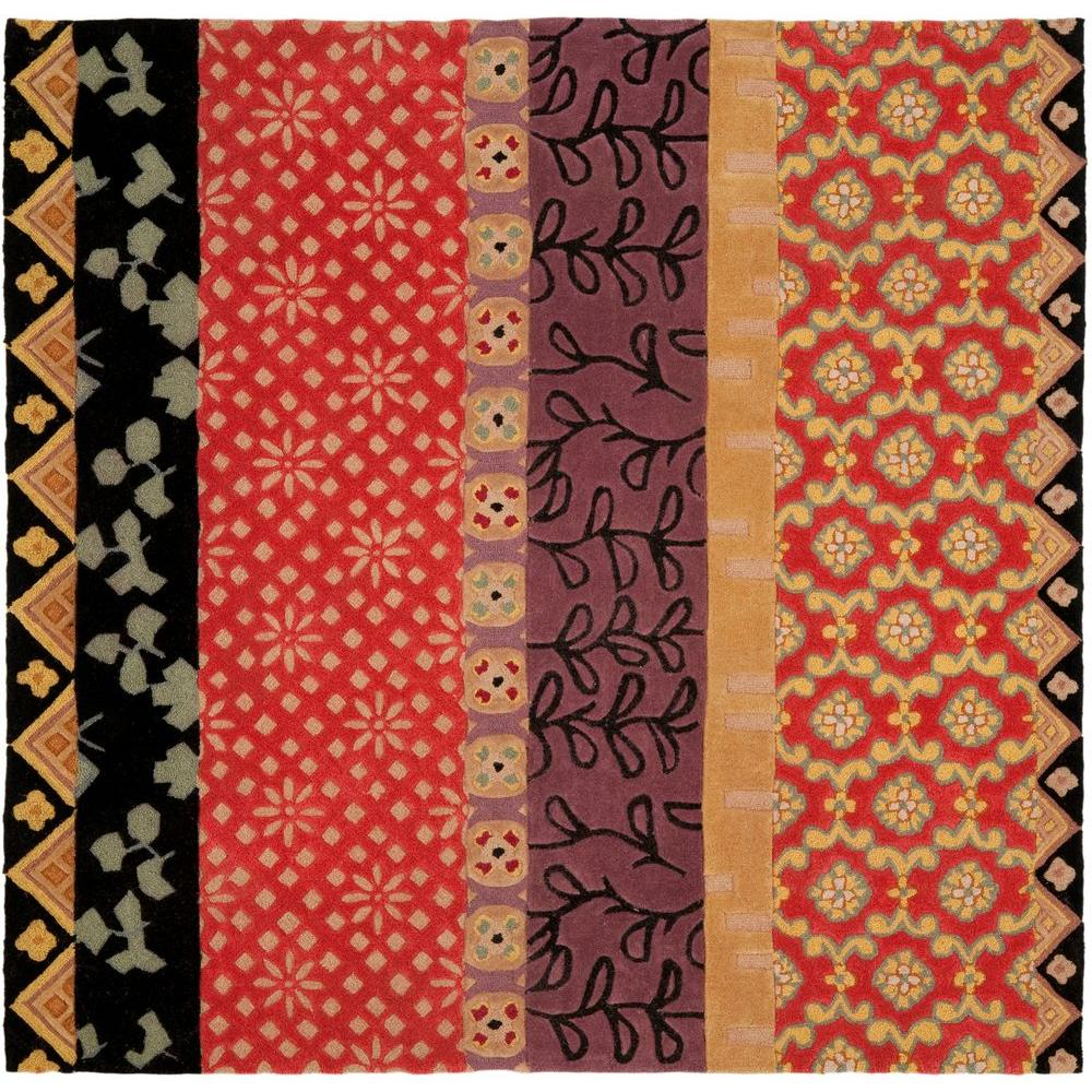 Safavieh Rodeo Drive Rust/Gold (Red/Gold) 6 ft. x 6 ft. S...