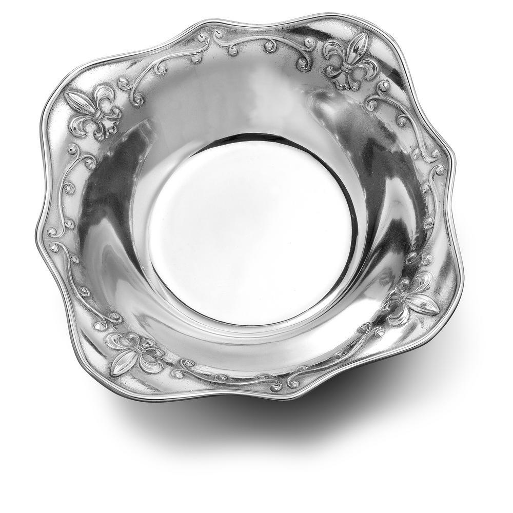 Fleur de Lis 48 oz. Medium Serving Bowl