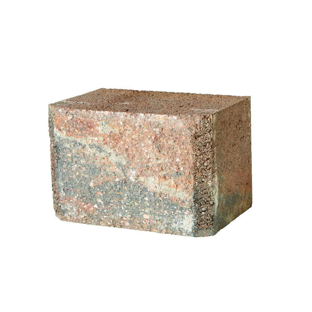 SplitRock DoubleLarge 7 in. x 10.5 in. x 7 in. Winter Blend Concrete Garden Wall Block (48 Pcs./ 24.5 Face ft. /Pallet)