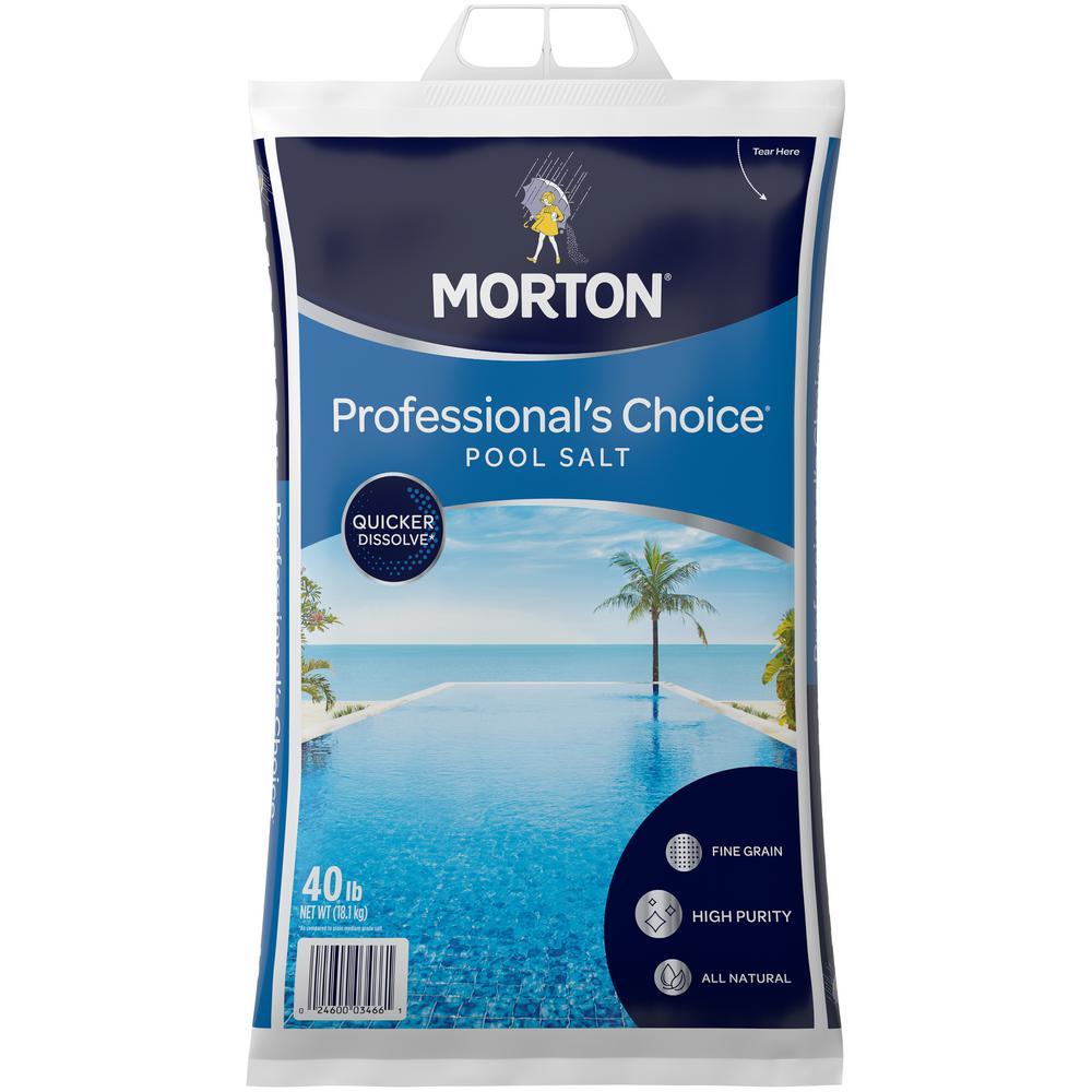 40 lbs. Professional's Choice Pool Salt