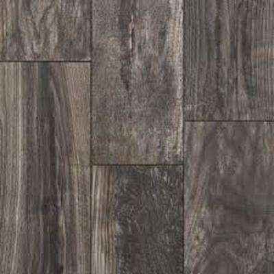 Take Home Sample -EIR Smokewood Fusion Laminate Flooring - 5 in. x 7 in.