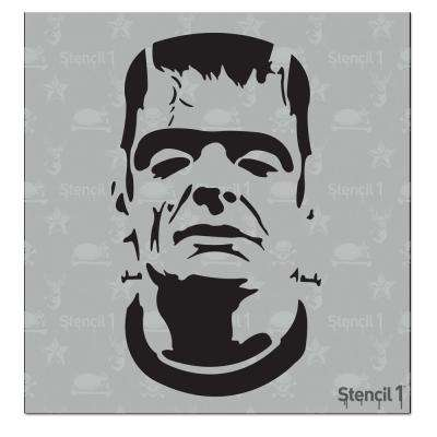 Frankenstein Small Stencil