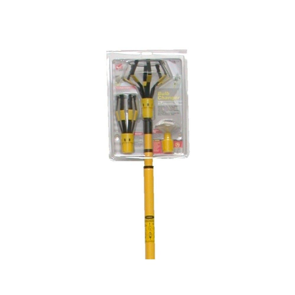 Commercial Electric 11 ft. Pole Light Bulb Changer Kit with Attachments