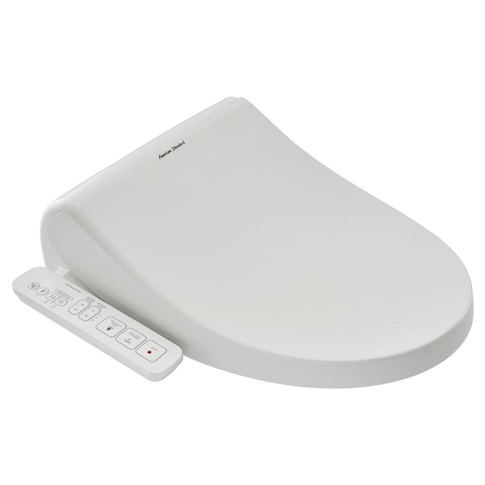 Spalet Electric Bidet Seat for Elongated Toilet in White