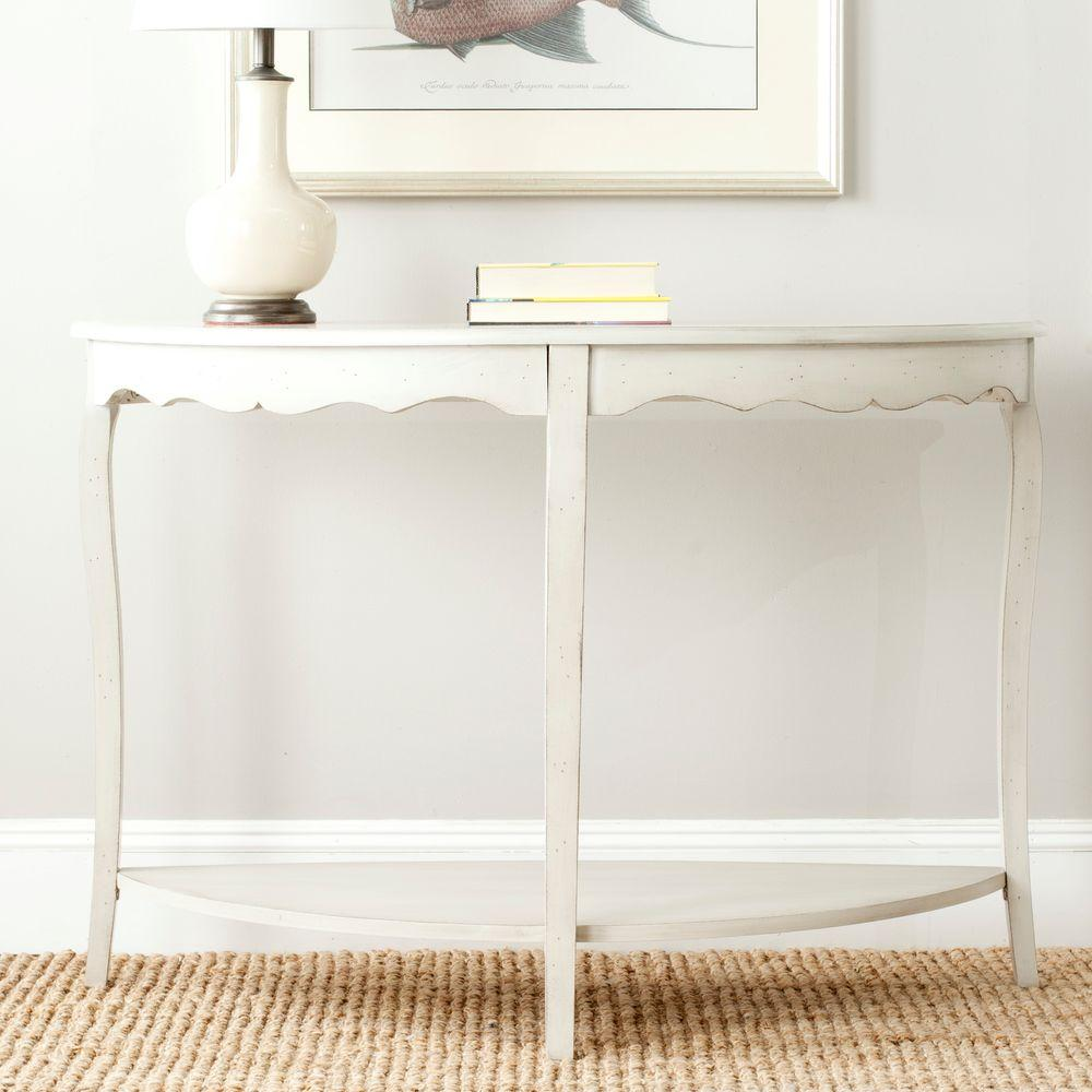 Safavieh Christina Off White Console Table