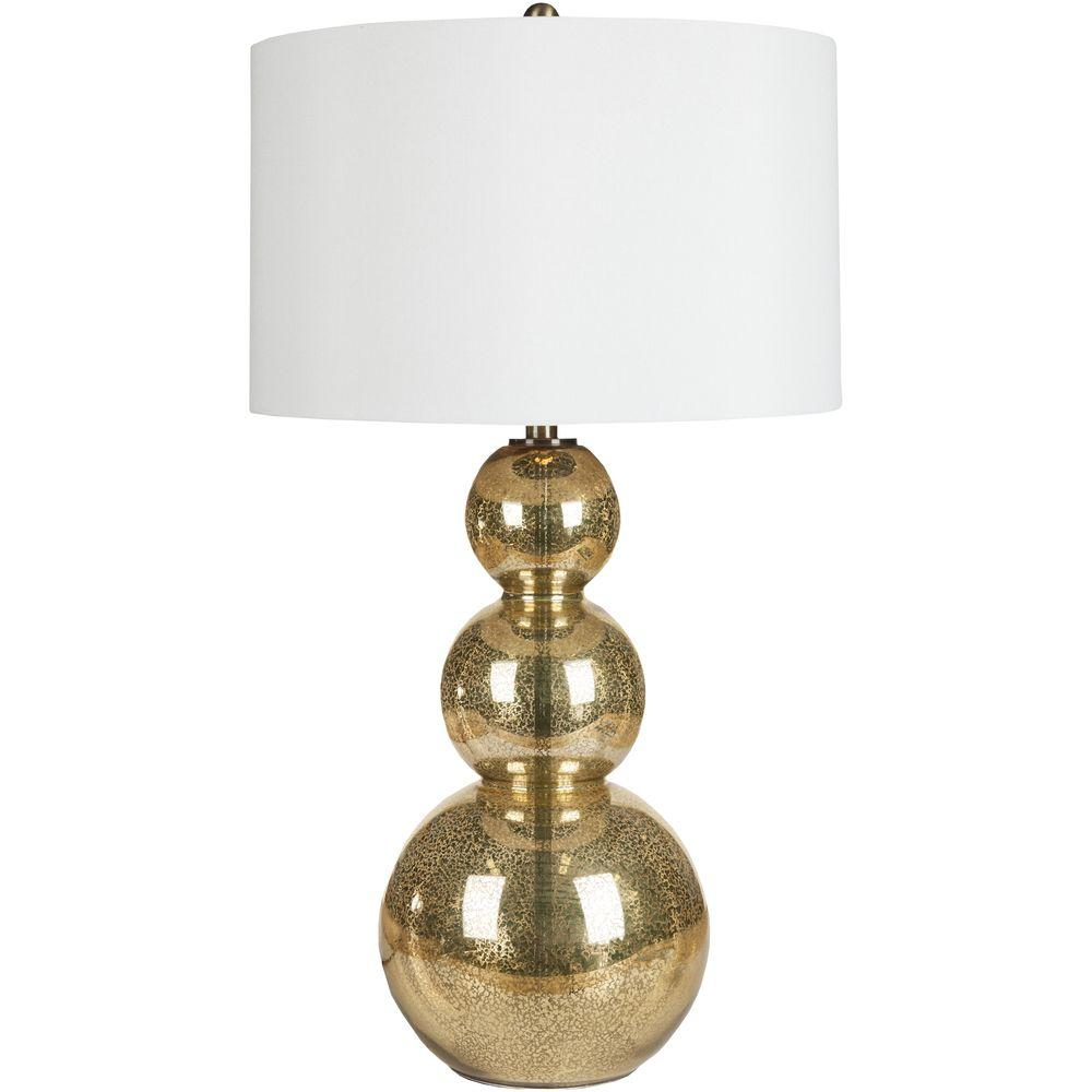 Artistic Weavers Viroqua 31.5 In. Gold Mercury Glass Table Lamp