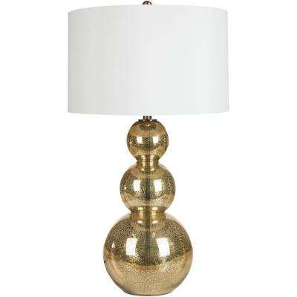 Viroqua 31.5 in. Gold Mercury Glass Table Lamp