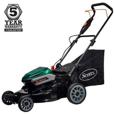 21 in. 62-Volt Lithium-Ion Cordless Battery Walk Behind Push Mower 5 Ah Battery and Charger Included