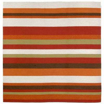 Striped - Square - Outdoor Rugs - Rugs - The Home Depot