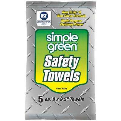 Safety Towels (5-Count) (Case of 50)