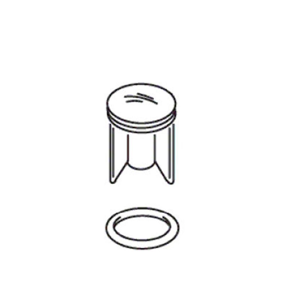 KOHLER Stopper Assembly in Polished Chrome-K-21318-CP - The Home Depot