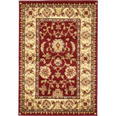 Voyage St. Louis Red 2' 2 x 3' 0 Area Rug