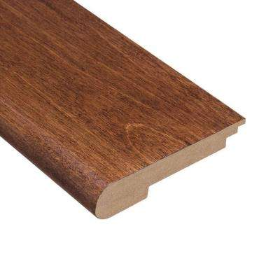 Fremont Walnut 1/2 in. Thick x 3-1/2 in. Wide x 78 in. Length Hardwood Stair Nose Molding