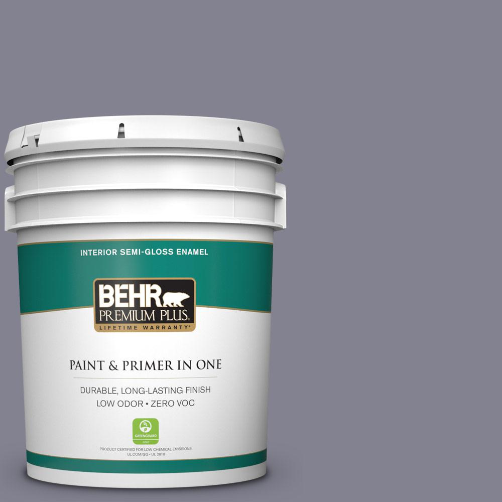 5-gal. #BNC-19 Formal Affair Semi-Gloss Enamel Interior Paint