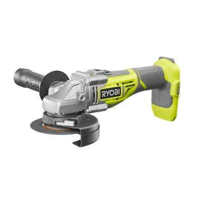 18-Volt One+ Cordless 4-1/2 in. Brushless Cut-Off Tool/Angle Grinder (Tool Only)