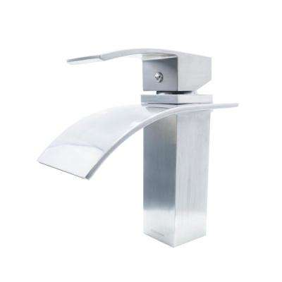 Fraser Single Hole Single-Handle Bathroom Faucet in Brushed Nickel