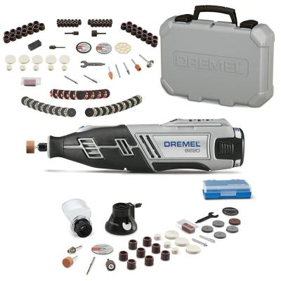 8220 Series 12-Volt MAX Lithium-Ion Variable Speed Cordless Rotary Tool Kit + Rotary Tool Accessory Kit (130-Piece)