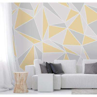 Yellow Radian Wall Mural