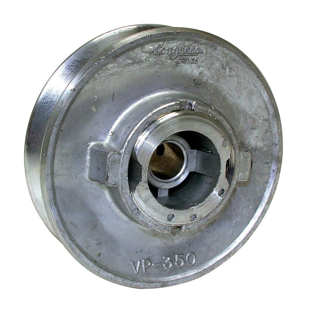 3-1/2 in. x 1/2 in. Variable Evaporative Cooler Motor Pulley
