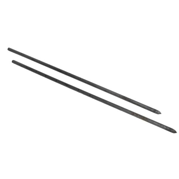 Concrete Garden Pointed MCA 30 Inch Round Steel Form Stakes with Holes 3//4 Diameter 10 Pack