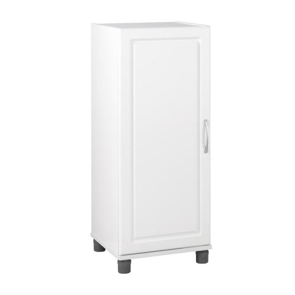 Trailwinds 38 in. H x 15-11/16 in. W x 15-3/8 in. D Stackable Freestanding Storage Cabinet in White