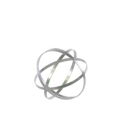8 in. H Decorative Sculpture in Gray Coated Finish