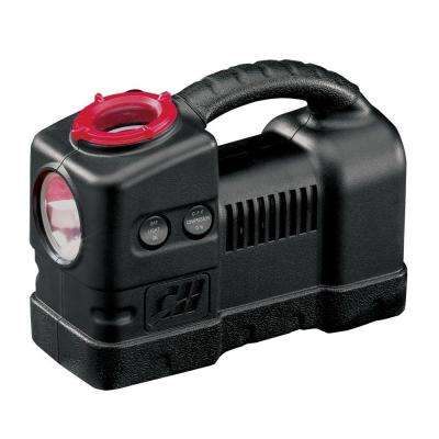 12-Volt Inflator with Safety Light